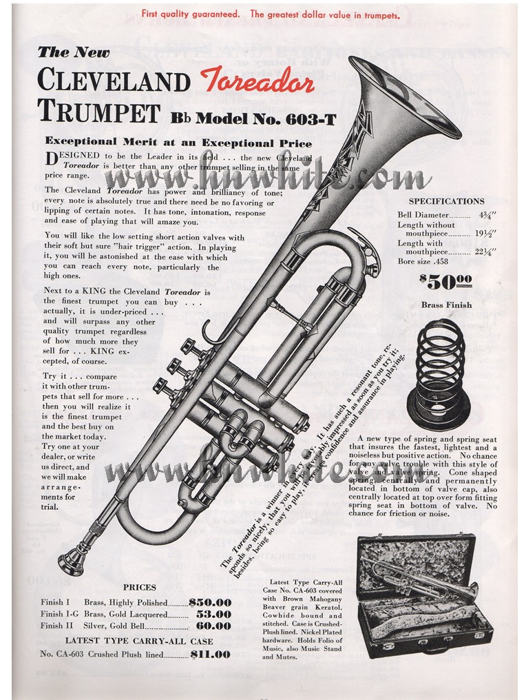 king 601 trumpet serial number lookup