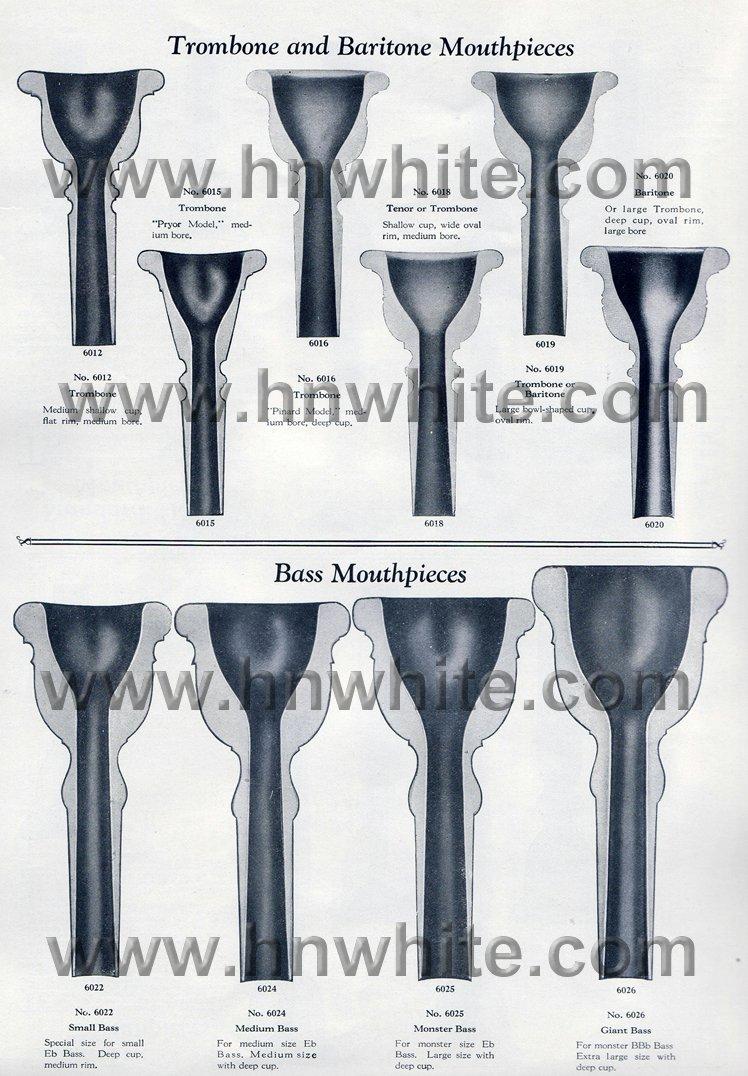HN White Mouthpieces