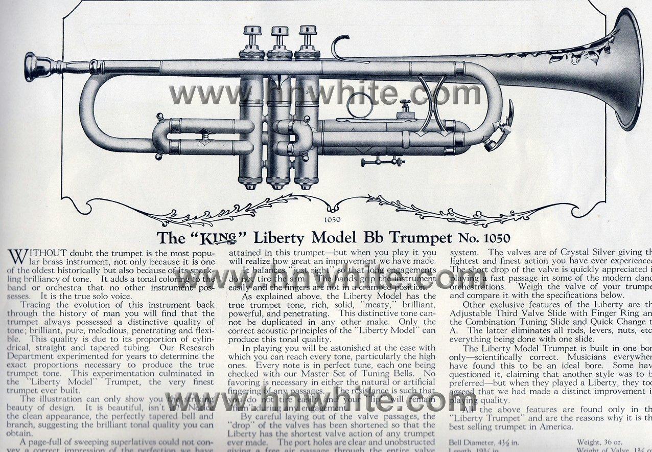 H N White Trumpets: Liberty, Master, 2-B, Super 20, Silver ...